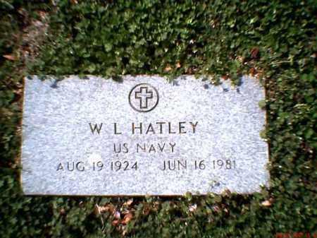 HATLEY (VETERAN), WILBUR LEE 'BUD' - Poinsett County, Arkansas | WILBUR LEE 'BUD' HATLEY (VETERAN) - Arkansas Gravestone Photos