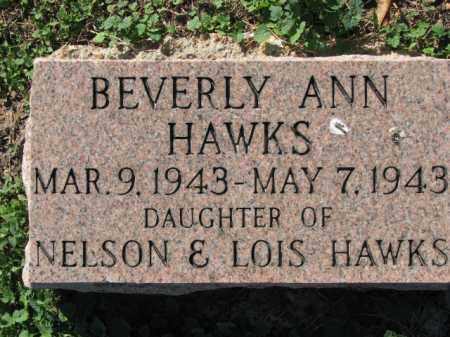 HAWKS, BEVERLY ANN - Poinsett County, Arkansas | BEVERLY ANN HAWKS - Arkansas Gravestone Photos