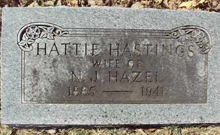 HASTINGS HAZEL, HATTIE - Poinsett County, Arkansas | HATTIE HASTINGS HAZEL - Arkansas Gravestone Photos