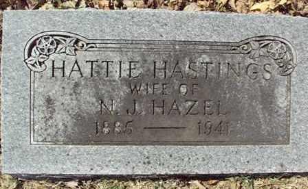 HASTINGS HAZEL, HATTIE - Poinsett County, Arkansas | HATTIE HASTINGS HAZEL - Arkansas Gravestone Photos