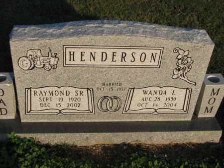 HENDERSON, WANDA L. - Poinsett County, Arkansas | WANDA L. HENDERSON - Arkansas Gravestone Photos