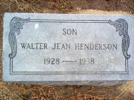 HENDERSON, WALTER JEAN - Poinsett County, Arkansas | WALTER JEAN HENDERSON - Arkansas Gravestone Photos