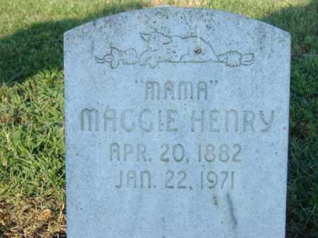 "HENRY, MAGGIE ""MAMA"" - Poinsett County, Arkansas 