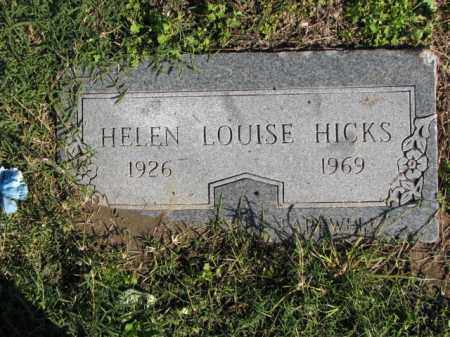HICKS, HELEN LOUISE - Poinsett County, Arkansas | HELEN LOUISE HICKS - Arkansas Gravestone Photos