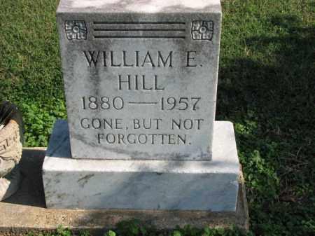 HILL, WILLIAM E. - Poinsett County, Arkansas | WILLIAM E. HILL - Arkansas Gravestone Photos