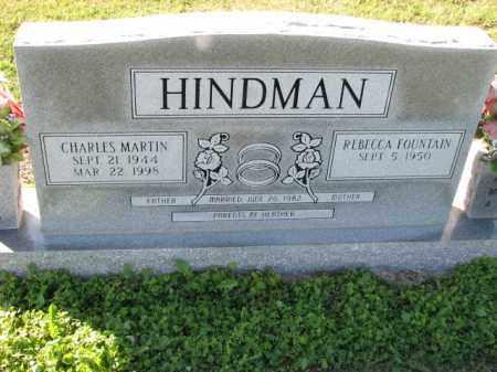 HINDMAN, CHARLES MARTIN - Poinsett County, Arkansas | CHARLES MARTIN HINDMAN - Arkansas Gravestone Photos