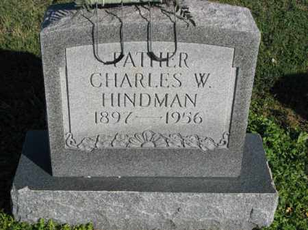 HINDMAN, CHARLES W. - Poinsett County, Arkansas | CHARLES W. HINDMAN - Arkansas Gravestone Photos