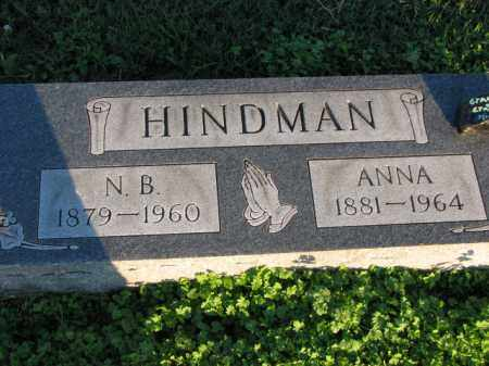 HINDMAN, ANNA - Poinsett County, Arkansas | ANNA HINDMAN - Arkansas Gravestone Photos