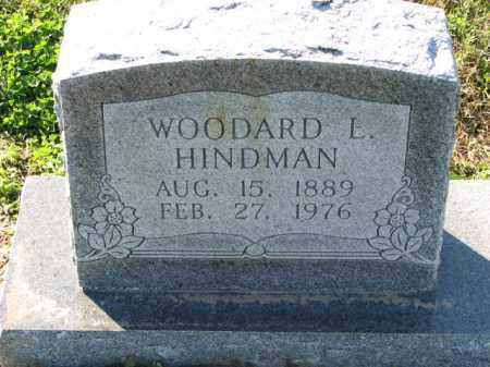 HINDMAN, WOODARD L. - Poinsett County, Arkansas | WOODARD L. HINDMAN - Arkansas Gravestone Photos