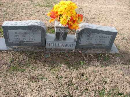 MARKS HOLLAWAY, ADDIE C. - Poinsett County, Arkansas | ADDIE C. MARKS HOLLAWAY - Arkansas Gravestone Photos
