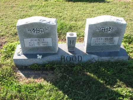 HOOD, GERTRUDE - Poinsett County, Arkansas | GERTRUDE HOOD - Arkansas Gravestone Photos