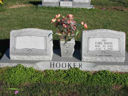 HOOKER, CARL DAVID - Poinsett County, Arkansas | CARL DAVID HOOKER - Arkansas Gravestone Photos