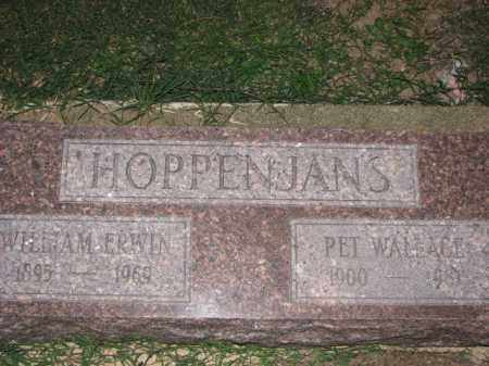 HOPPENJANS, WILLIAM ERWIN - Poinsett County, Arkansas | WILLIAM ERWIN HOPPENJANS - Arkansas Gravestone Photos