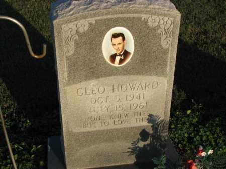 HOWARD, CLEO - Poinsett County, Arkansas | CLEO HOWARD - Arkansas Gravestone Photos