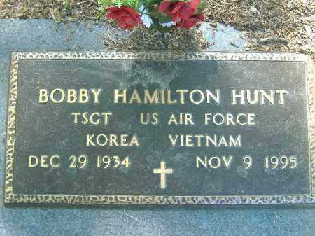 HUNT  (VETERAN 2 WARS), BOBBY HAMILTON - Poinsett County, Arkansas | BOBBY HAMILTON HUNT  (VETERAN 2 WARS) - Arkansas Gravestone Photos