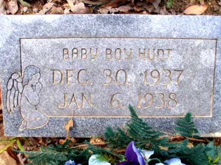 HUNT, BABY BOY - Poinsett County, Arkansas | BABY BOY HUNT - Arkansas Gravestone Photos