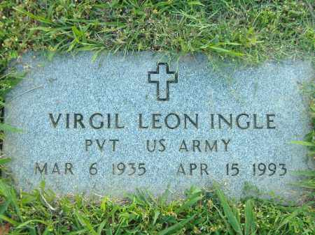 INGLE  (VETERAN), VIRGIL LEON - Poinsett County, Arkansas | VIRGIL LEON INGLE  (VETERAN) - Arkansas Gravestone Photos