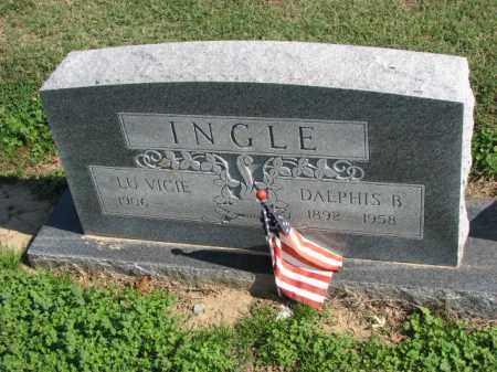INGLE, DALPHIS B. - Poinsett County, Arkansas   DALPHIS B. INGLE - Arkansas Gravestone Photos