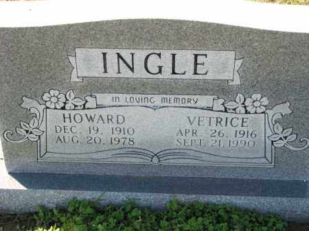 INGLE, HOWARD - Poinsett County, Arkansas | HOWARD INGLE - Arkansas Gravestone Photos