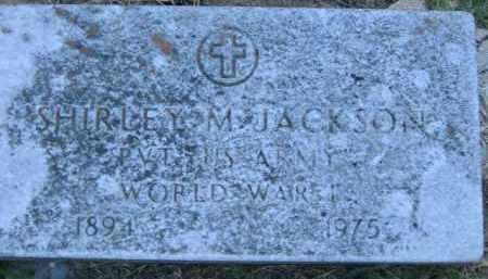 JACKSON  (VETERAN WWI), SHIRLEY M. - Poinsett County, Arkansas | SHIRLEY M. JACKSON  (VETERAN WWI) - Arkansas Gravestone Photos