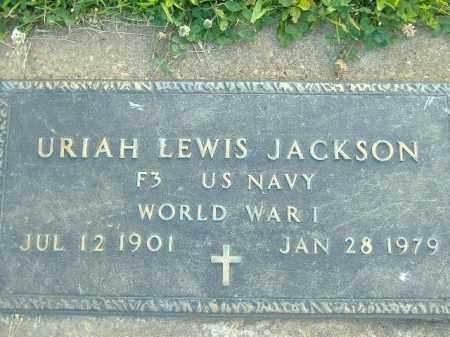 JACKSON  (VETERAN WWI), URIAH LEWIS - Poinsett County, Arkansas | URIAH LEWIS JACKSON  (VETERAN WWI) - Arkansas Gravestone Photos