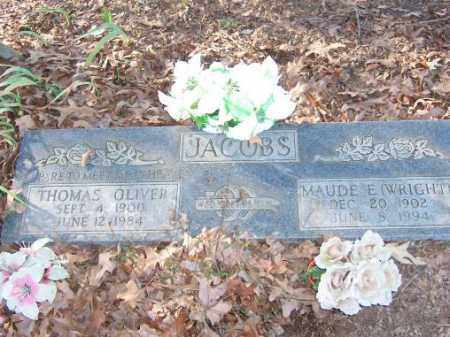 JACOBS, THOMAS OLIVER - Poinsett County, Arkansas | THOMAS OLIVER JACOBS - Arkansas Gravestone Photos
