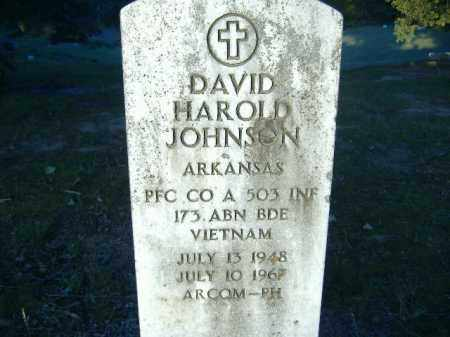 JOHNSON  (VETERAN VIET, KIA), DAVID HAROLD - Poinsett County, Arkansas | DAVID HAROLD JOHNSON  (VETERAN VIET, KIA) - Arkansas Gravestone Photos