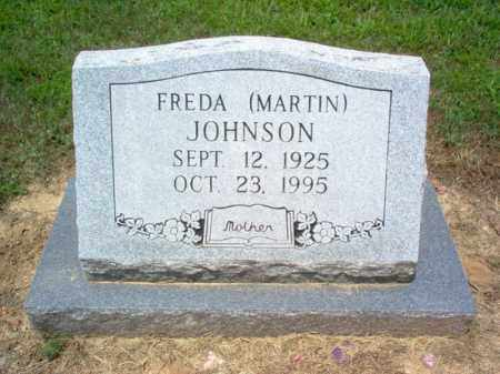 MARTIN JOHNSON, FREDA MAY - Poinsett County, Arkansas | FREDA MAY MARTIN JOHNSON - Arkansas Gravestone Photos