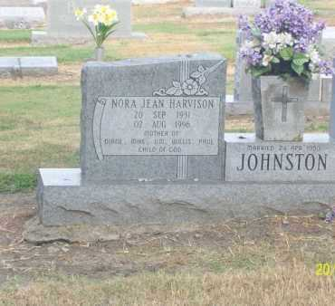 HARVISON JOHNSTON, NORA JEAN - Poinsett County, Arkansas | NORA JEAN HARVISON JOHNSTON - Arkansas Gravestone Photos