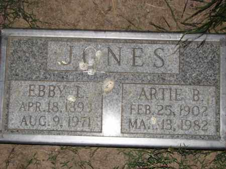 JONES, ARTIE B. - Poinsett County, Arkansas | ARTIE B. JONES - Arkansas Gravestone Photos