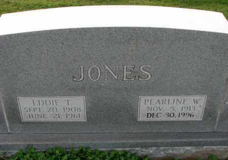 JONES, PEARLINE W. - Poinsett County, Arkansas | PEARLINE W. JONES - Arkansas Gravestone Photos