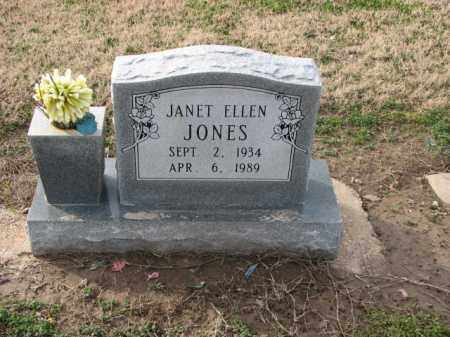 JONES, JANET ELLEN - Poinsett County, Arkansas | JANET ELLEN JONES - Arkansas Gravestone Photos