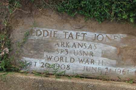 JONES (VETERAN WWII), EDDIE TAFT - Poinsett County, Arkansas | EDDIE TAFT JONES (VETERAN WWII) - Arkansas Gravestone Photos