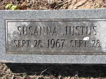 JUSTUS, SUSANNA - Poinsett County, Arkansas | SUSANNA JUSTUS - Arkansas Gravestone Photos
