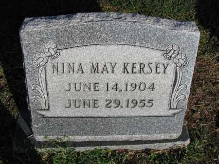 KERSEY, NINA MAY - Poinsett County, Arkansas | NINA MAY KERSEY - Arkansas Gravestone Photos