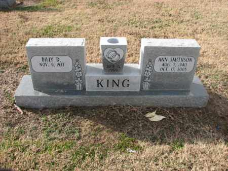 SMITHSON KING, ANN - Poinsett County, Arkansas | ANN SMITHSON KING - Arkansas Gravestone Photos