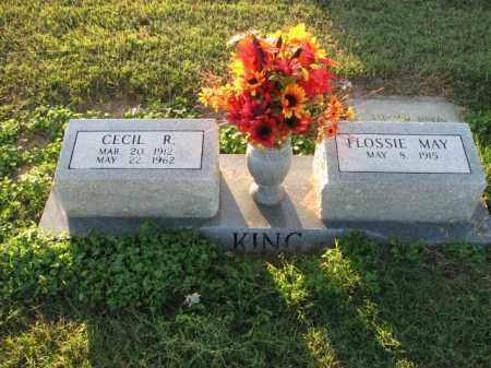 KING, CECIL R. - Poinsett County, Arkansas | CECIL R. KING - Arkansas Gravestone Photos