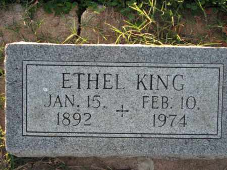 KING, ETHEL - Poinsett County, Arkansas | ETHEL KING - Arkansas Gravestone Photos