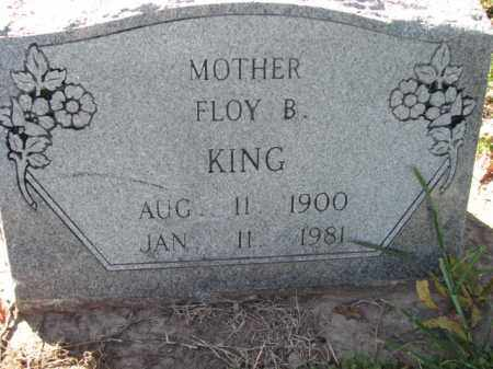 KING, FLOY B. - Poinsett County, Arkansas | FLOY B. KING - Arkansas Gravestone Photos