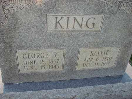 KING, SALLIE - Poinsett County, Arkansas | SALLIE KING - Arkansas Gravestone Photos