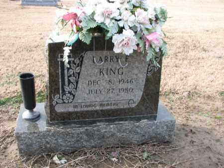 KING, LARRY E. - Poinsett County, Arkansas | LARRY E. KING - Arkansas Gravestone Photos