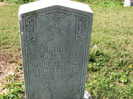 KIRBY, MAGGIE - Poinsett County, Arkansas | MAGGIE KIRBY - Arkansas Gravestone Photos