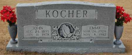 KOCHER, JOHN - Poinsett County, Arkansas | JOHN KOCHER - Arkansas Gravestone Photos
