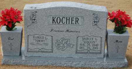 KOCHER, SHIRLEY A. - Poinsett County, Arkansas | SHIRLEY A. KOCHER - Arkansas Gravestone Photos