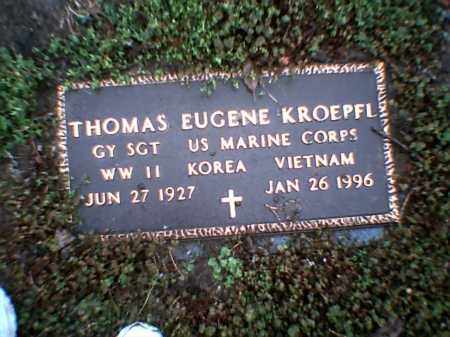 KROEPFL (VETERAN 3 WARS), THOMAS EUGENE - Poinsett County, Arkansas | THOMAS EUGENE KROEPFL (VETERAN 3 WARS) - Arkansas Gravestone Photos