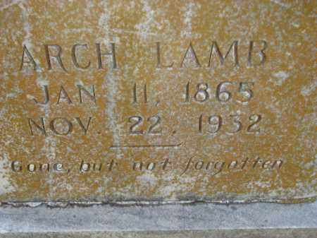 LAMB, ARCH - Poinsett County, Arkansas | ARCH LAMB - Arkansas Gravestone Photos