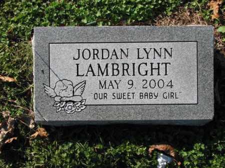 LAMBRIGHT, JORDAN LYNN - Poinsett County, Arkansas | JORDAN LYNN LAMBRIGHT - Arkansas Gravestone Photos