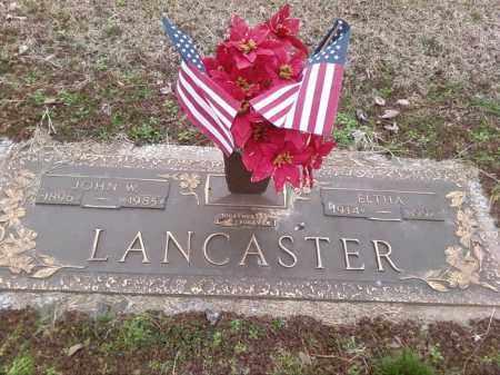 LANCASTER, JOHN W - Poinsett County, Arkansas | JOHN W LANCASTER - Arkansas Gravestone Photos