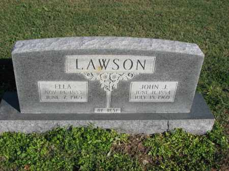 LAWSON, ELLA - Poinsett County, Arkansas | ELLA LAWSON - Arkansas Gravestone Photos