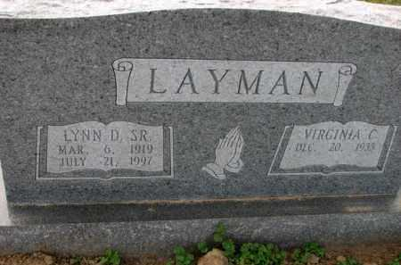 LAYMAN, VIRGINIA C. - Poinsett County, Arkansas | VIRGINIA C. LAYMAN - Arkansas Gravestone Photos